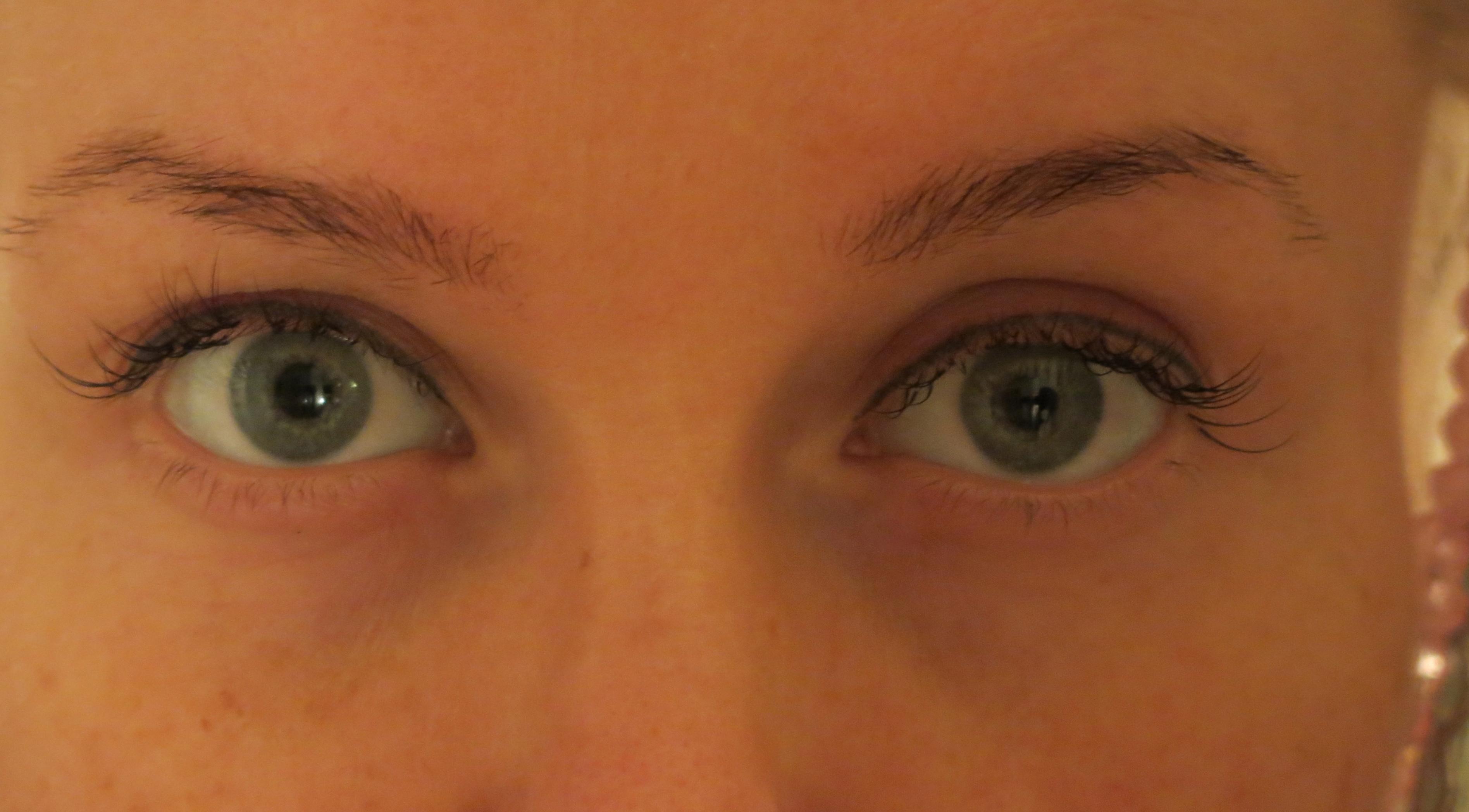 färga ögonbryn gravid