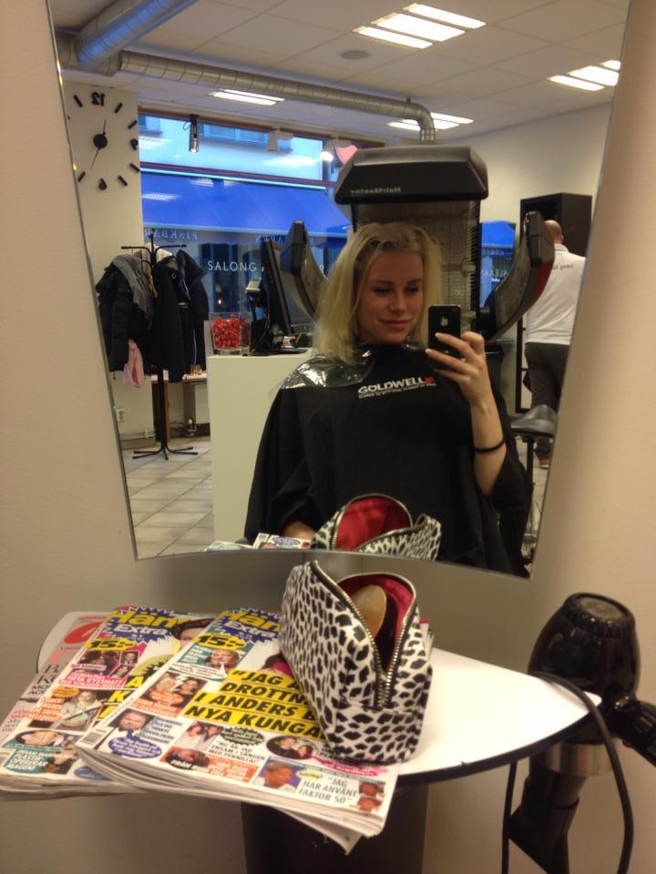 hårfärgning